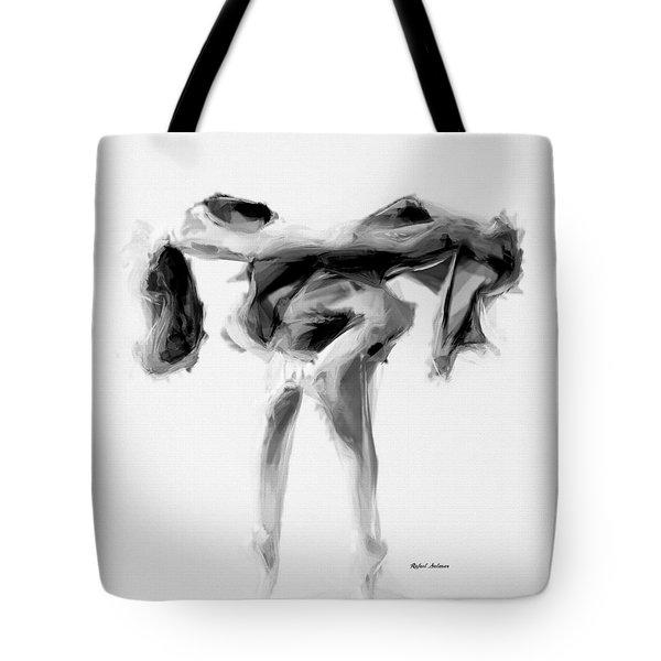 Dance Moves II Tote Bag by Rafael Salazar