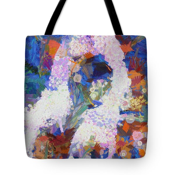 Tote Bag featuring the painting Dance Of Fools by Joe Misrasi
