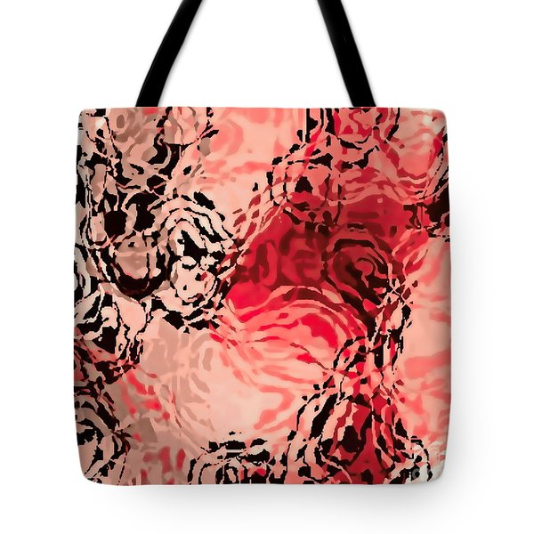 Dance Of Passion Tote Bag by Tim Richards