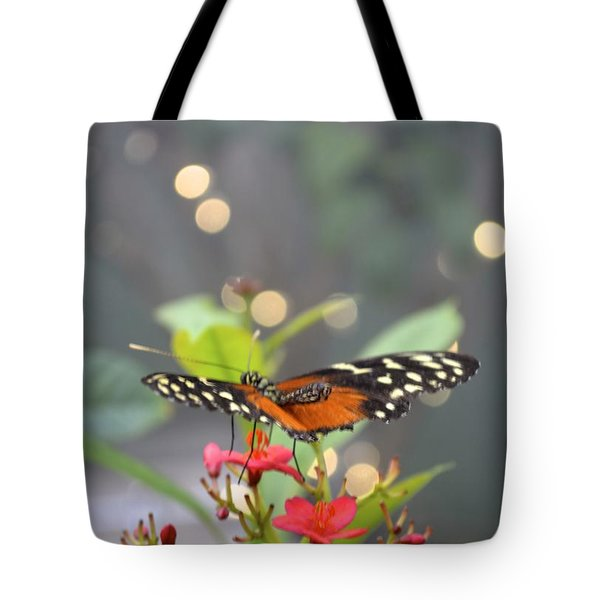 Tote Bag featuring the photograph Dance Of The Butterfly by Carla Carson