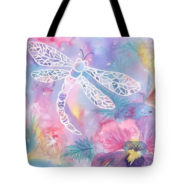 Dance Of The Dragonfly Tote Bag