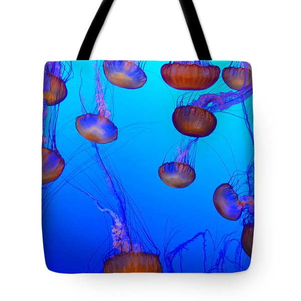 Dance Of The Jellyfish Tote Bag