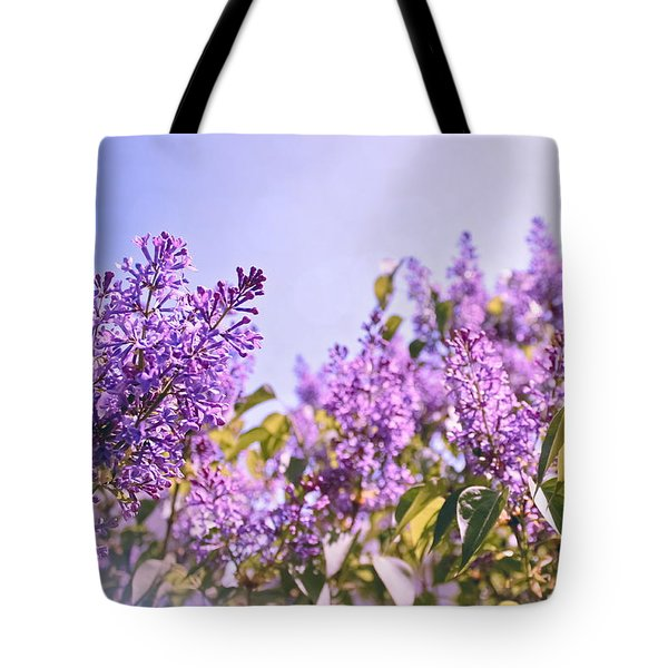Dance Of The Lilacs Tote Bag