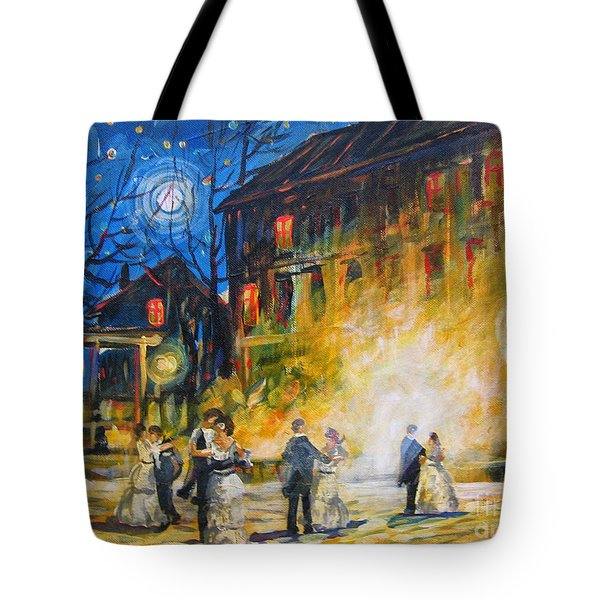 Dance The Night Away Tote Bag