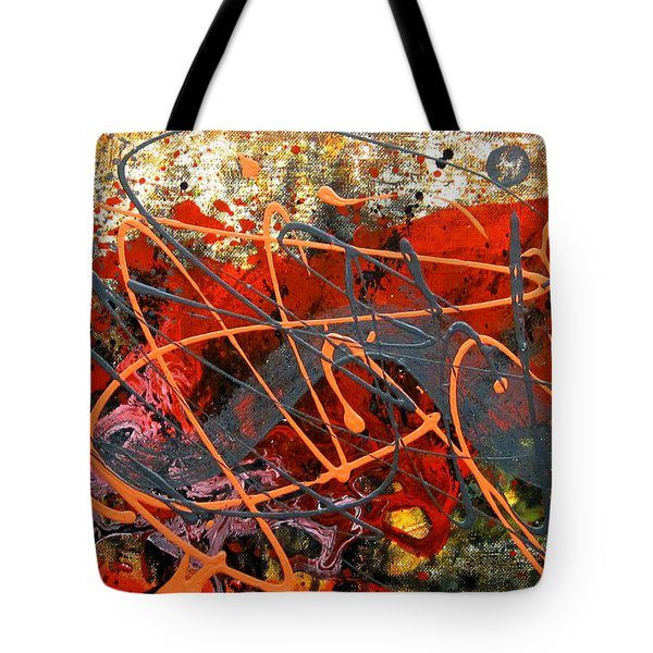 Dance With Dragons Tote Bag by Leon Zernitsky