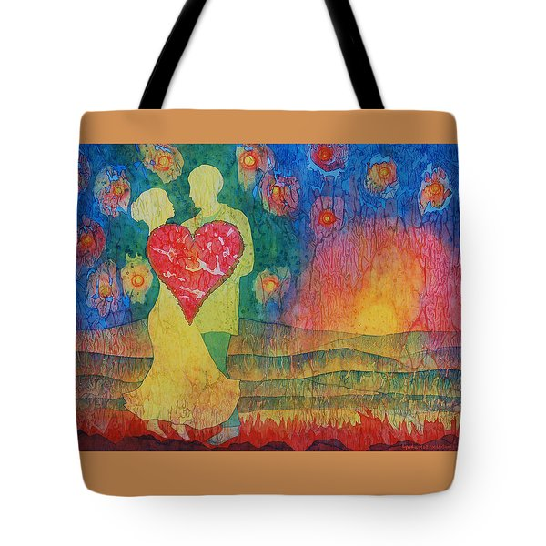 Danced Until Dawn Tote Bag