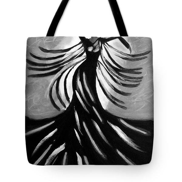 Dancer 2 Tote Bag by Anita Lewis