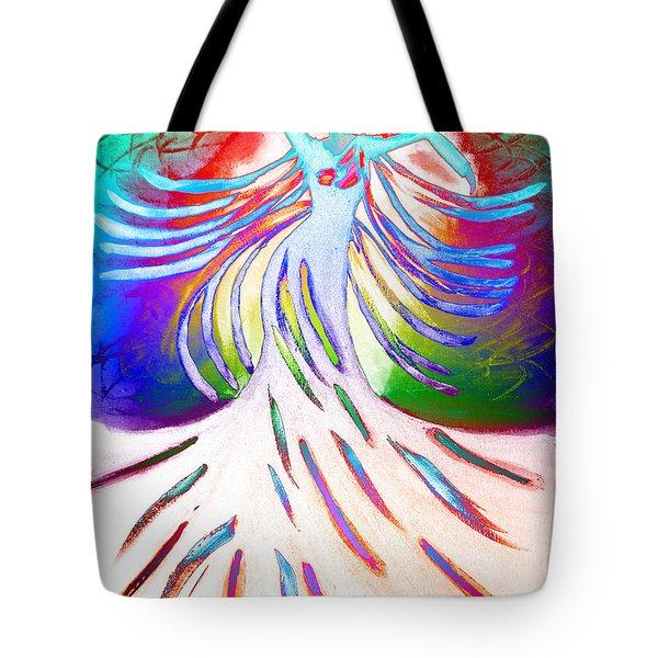 Dancer 4 Tote Bag by Anita Lewis