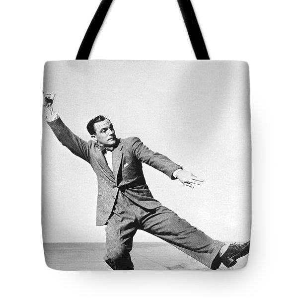 Dancer Gene Kelly Tote Bag
