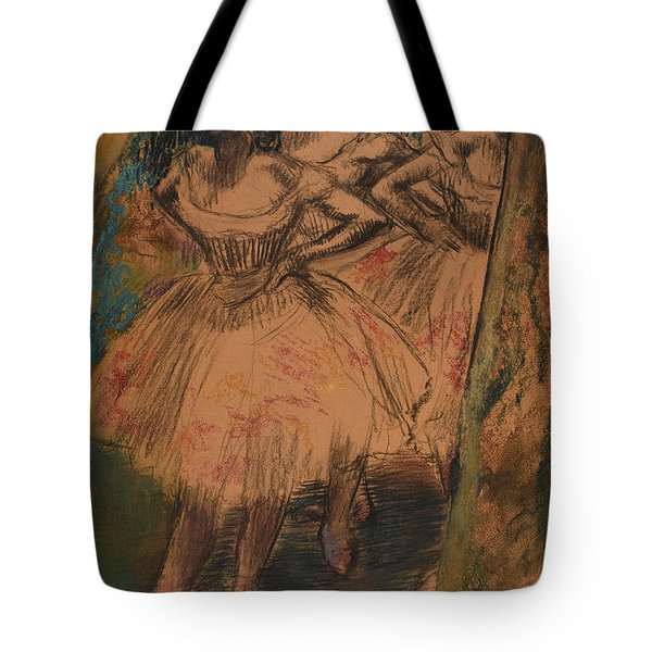 Dancer In The Wing Tote Bag