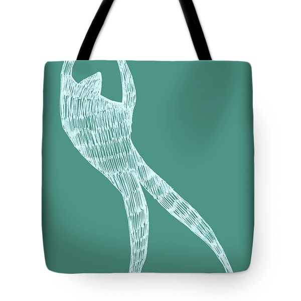Dancer Tote Bag by Michelle Calkins