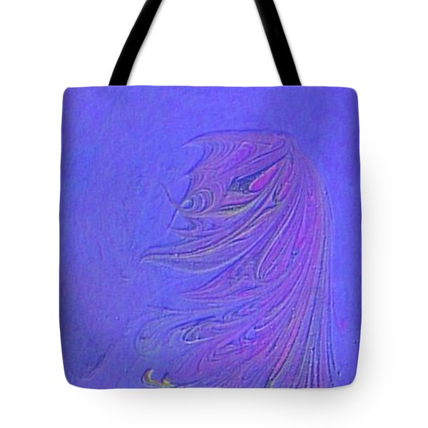 Tote Bag featuring the painting Dancer by Mike Breau