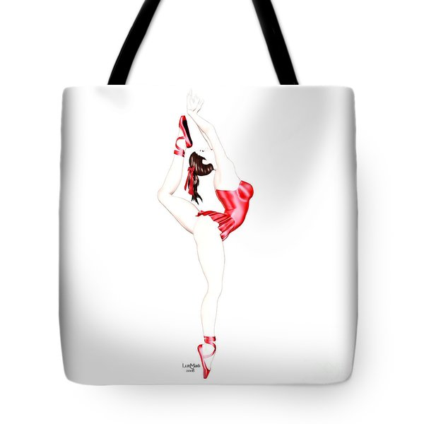 Dancer Tote Bag by Renate Janssen