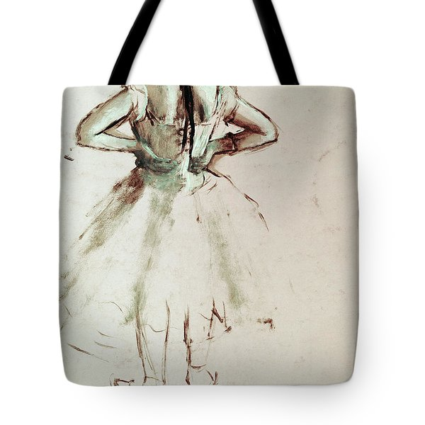 Dancer Viewed From The Back Tote Bag