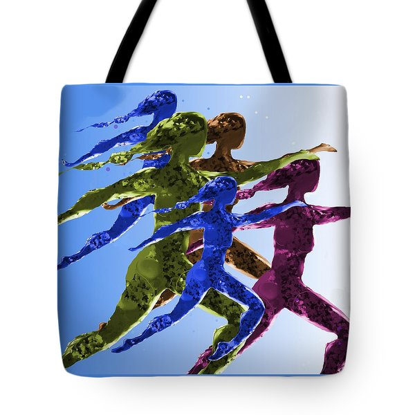 Dancers Tote Bag by Mary Armstrong