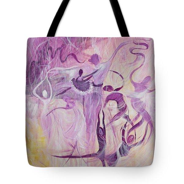 Dancers Tote Bag by Susan Harris