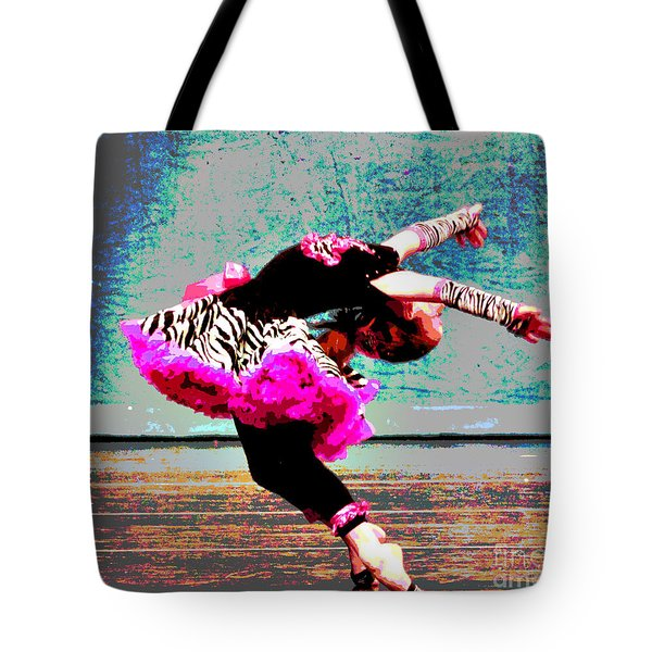 Dancevii Tote Bag by Linda Cox