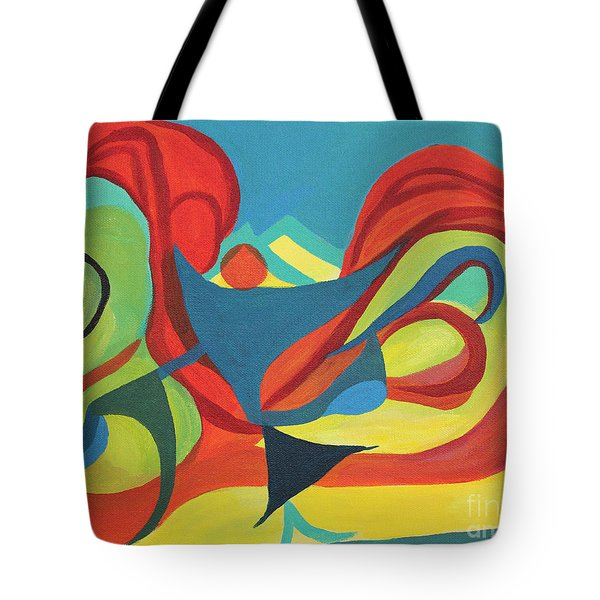 Dancing Child Tote Bag