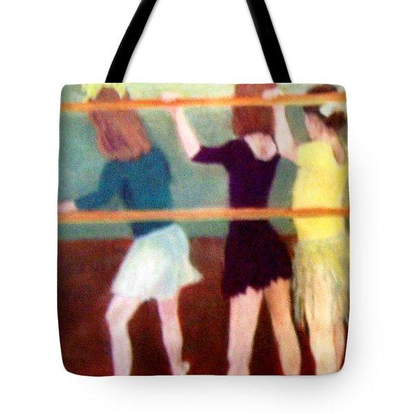 Dancing Class Tote Bag