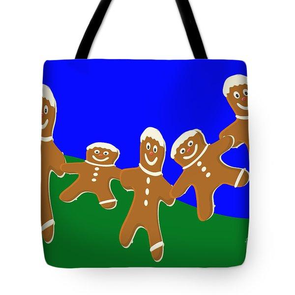 Dancing Cookies Tote Bag
