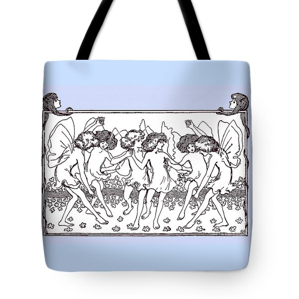 Dancing Fairies From 1896 Tote Bag