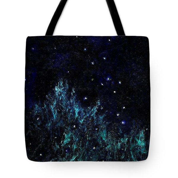 Dancing Fireflies Tote Bag