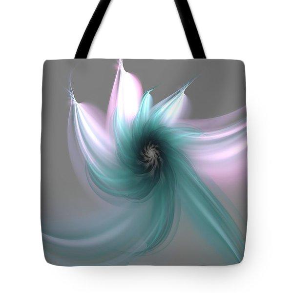 Dancing Flower Tote Bag by Svetlana Nikolova