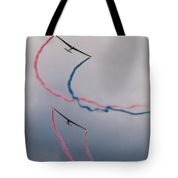 Dancing In The Air Tote Bag by Davorin Mance