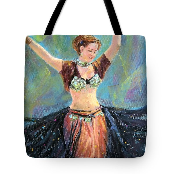 Dancing In The Air Tote Bag