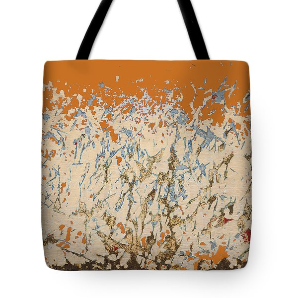 Dancing In The Fire Tote Bag by Carol Leigh