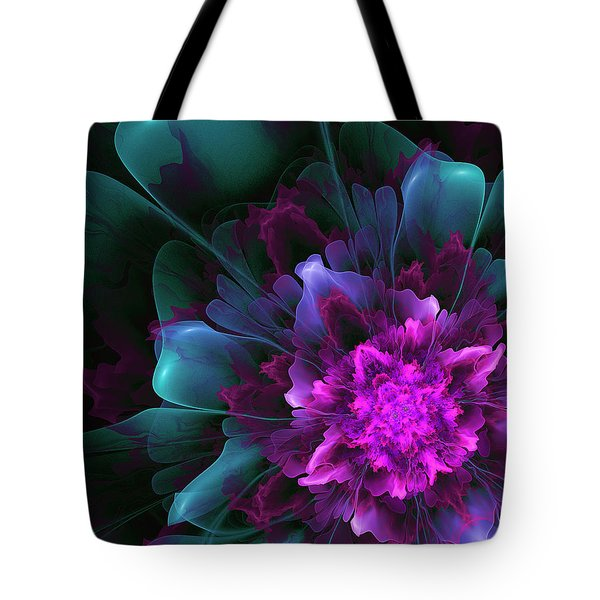 Tote Bag featuring the digital art Dancing In The Moonlight by Linda Whiteside