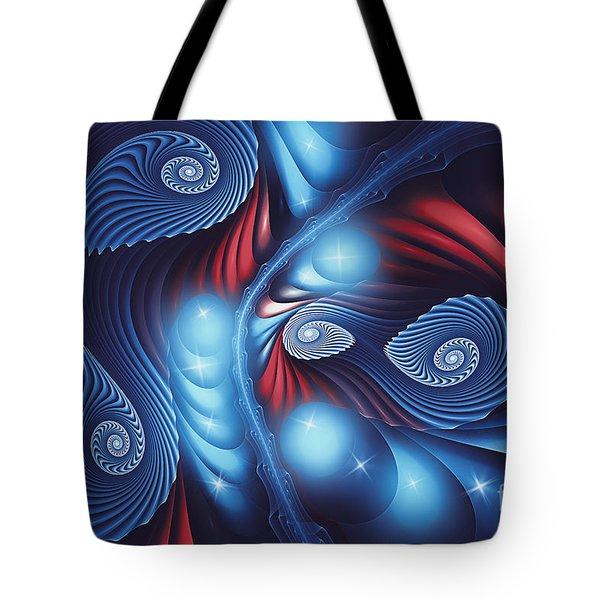 Dancing In The Night Tote Bag