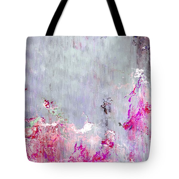Dancing In The Rain - Abstract Art Tote Bag by Jaison Cianelli