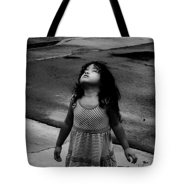 Dancing In The Rain  Tote Bag