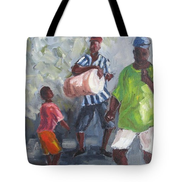 Dancing In The Street Eleuthera Tote Bag by Susan Richardson