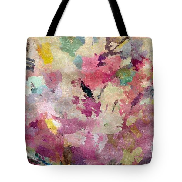 Dancing In The Wind Tote Bag by Cindy McClung