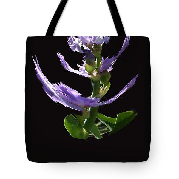 Dancing Iris 1 Tote Bag