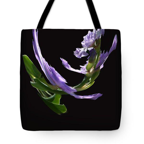 Dancing Iris 2 Tote Bag