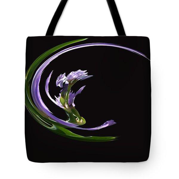 Dancing Iris 3 Tote Bag