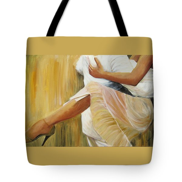 Dancing Legs Tote Bag