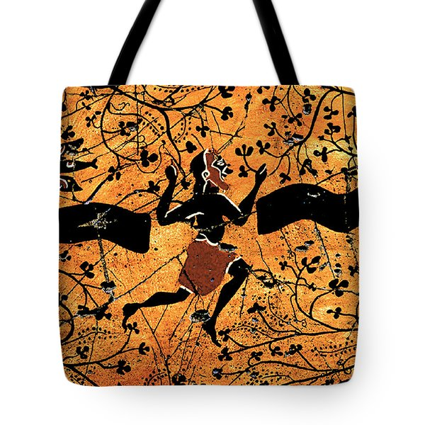 Dancing Man - Study No. 1 Tote Bag
