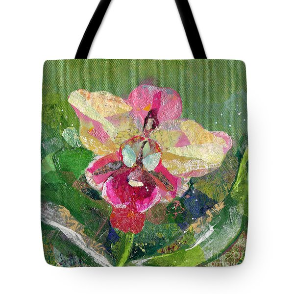Dancing Orchid I Tote Bag by Shadia Derbyshire