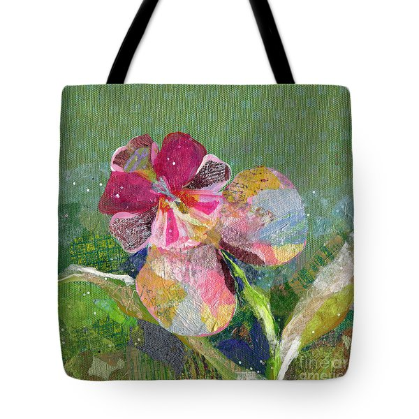 Dancing Orchid IIi Tote Bag by Shadia Derbyshire