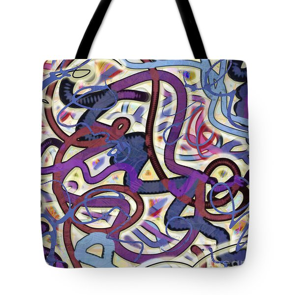 Dancing P Tote Bag