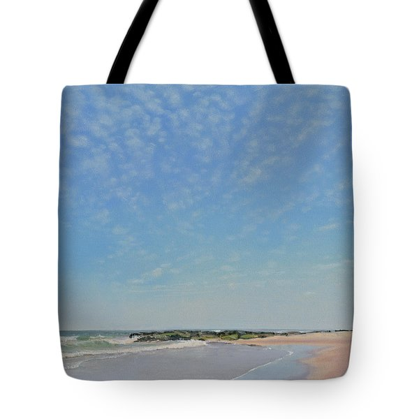 Dancing Sky In April Tote Bag