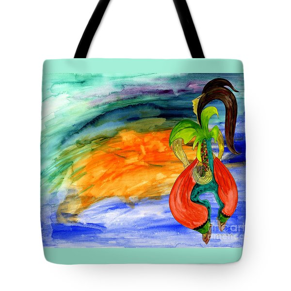Dancing Tree Of Life Tote Bag
