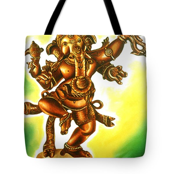 Dancing Vinayaga Tote Bag