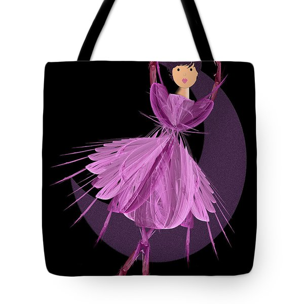 Dancing With The Moon A Tote Bag by Andee Design