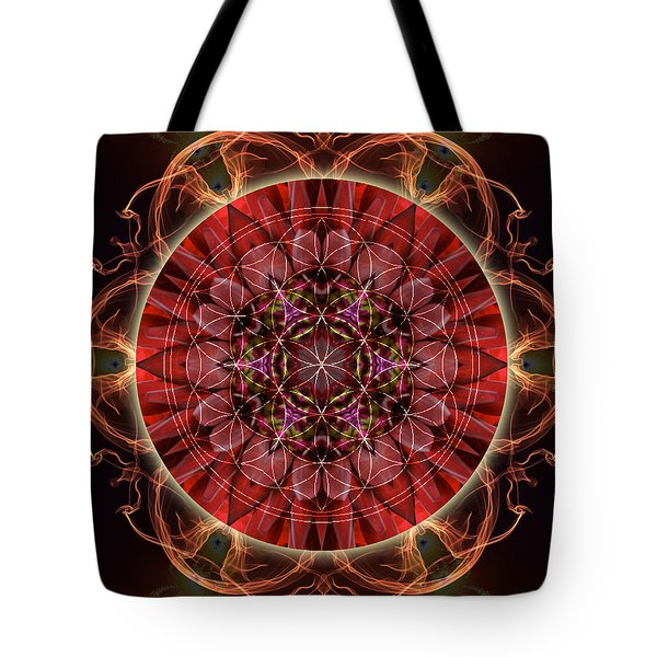 Dancing With The Solar Flares Tote Bag