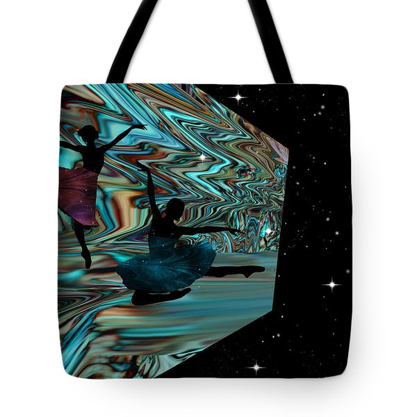 Dancing With The Stars-featured In Harmony And Happiness Group Tote Bag by EricaMaxine  Price
